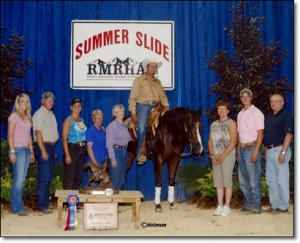 Specializing in training and showing top level reining horses