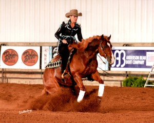 She's Moonstruck ( Smart Like Juice x Chyna Moon ) Bred and Trained by Schwartzenberger Equine